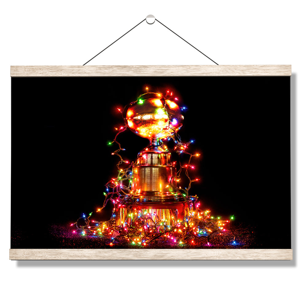 Ole Miss Rebels - Egg Bowl Christmas #Canvas