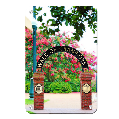 Ole Miss Rebels - Spring Walk of Champions - College Wall Art #Metal