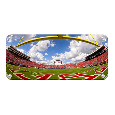 Ole Miss Rebels - Fisheye End zone Panoramic - College Wall Art #Metal