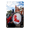 Ole Miss Rebels - Ole Miss Come Marching In - College Wall Art #Metal