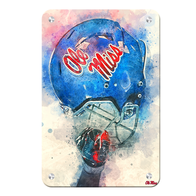 Ole Miss Rebels - Ole Miss Pride - College Wall Art #Metal