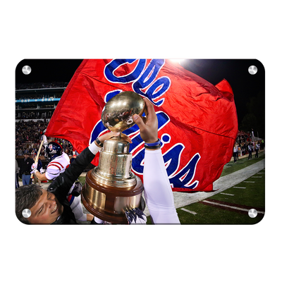 Ole Miss Rebels - Victory Lap - College Wall Art #Metal