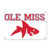Ole Miss Rebels - Ole Miss Land Shark - College Wall Art #Metal