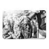 Ole Miss Rebels - Never Quit B&W - College Wall Art #Metal