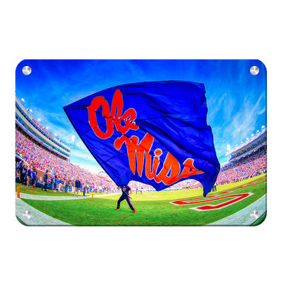Ole Miss Rebels - This Is Ole Miss - College Wall Art #Metal
