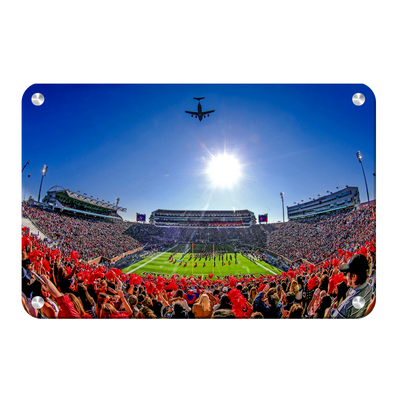 Ole Miss Rebels - Flight Over - College Wall Art #Metal