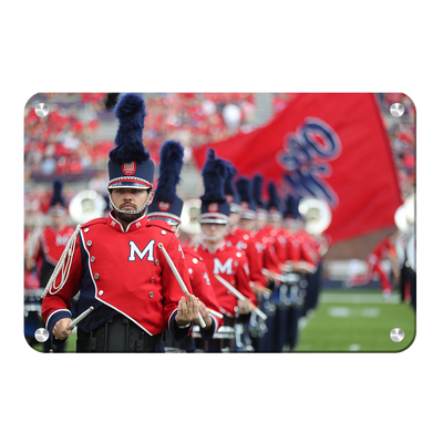 Ole Miss Rebels - Marching In - College Wall Art #Metal