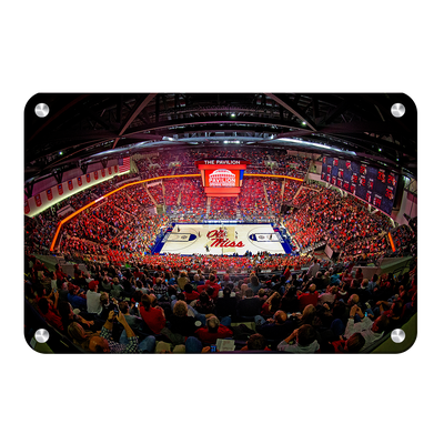 Ole Miss Rebels - The Pavilion Wide Angle - College Wall Art #Metal