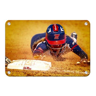 Ole Miss Rebels - Softball Safe - College Wall Art #Metal