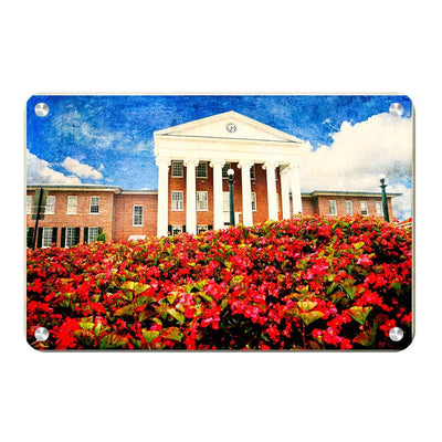 Ole Miss Rebels - Lyceum Paint - College Wall Art #Metal
