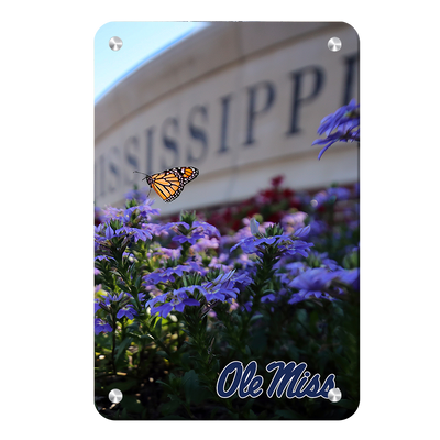 Ole Miss Rebels - Ole Miss Blue#Metal