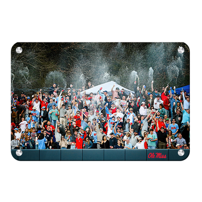Ole Miss Rebels - The First Swayze Shower of Spring - College Wall Art #Metal