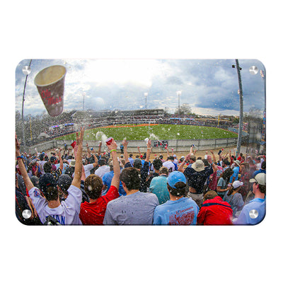 Ole Miss Rebels - Oxford Shower - College Wall Art #Metal