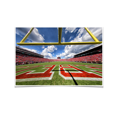 Ole Miss Rebels - Vaught-Hemingway End Zone - College Wall Art #Poster
