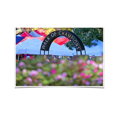Ole Miss Rebels - Walk of Champions Up Close - College Wall Art #Poster