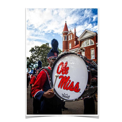 Ole Miss Rebels - Ole Miss Come Marching In - College Wall Art #Poster