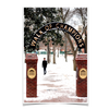 Ole Miss Rebels - Snowy Walk of Champions - College Wall Art #Poster