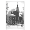 Ole Miss Rebels - Snow Day Ventress Hall - College Wall Art #Poster