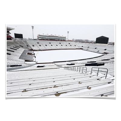 Ole Miss Rebels - Snow Day-Vaught- Hemingway - College Wall Art #Poster
