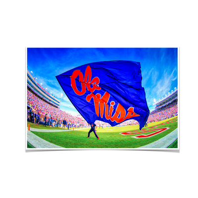 Ole Miss Rebels - This Is Ole Miss - College Wall Art #Poster