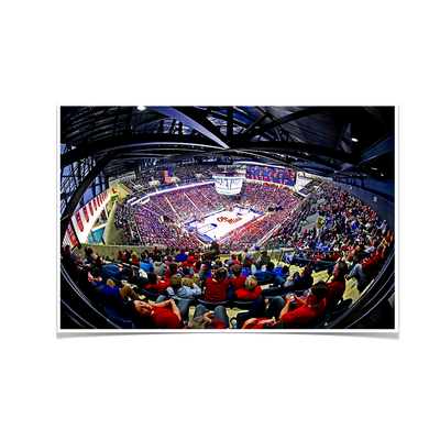Ole Miss Rebels - Fisheye Pavilion - College Wall Art #Poster