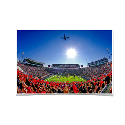 Ole Miss Rebels - Flight Over - College Wall Art #Poster