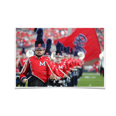 Ole Miss Rebels - Marching In - College Wall Art #Poster