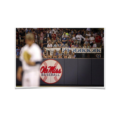 Ole Miss Rebels - Ole Miss Baseball - College Wall Art #Poster