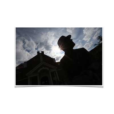 Ole Miss Rebels - Vaught Silhouette - College Wall Art #Poster