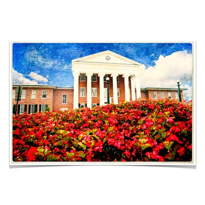 Ole Miss Rebels - Lyceum Paint - College Wall Art #Poster