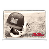 Ole Miss Rebels - Ole Miss Vintage Baseball - College Wall Art #Poster