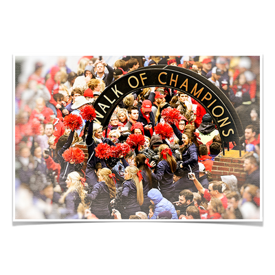 Ole Miss Rebels - Walk of Champions Cheer - College Wall Art #Poster