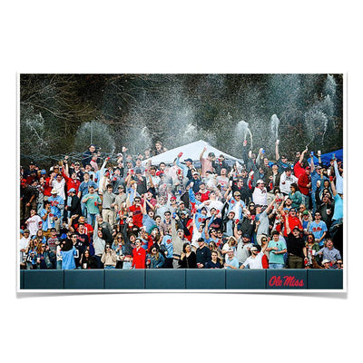 Ole Miss Rebels - The First Swayze Shower of Spring - College Wall Art #Poster