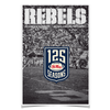 Ole Miss Rebels - REBELS 125 Years - College Wall Art #Poster