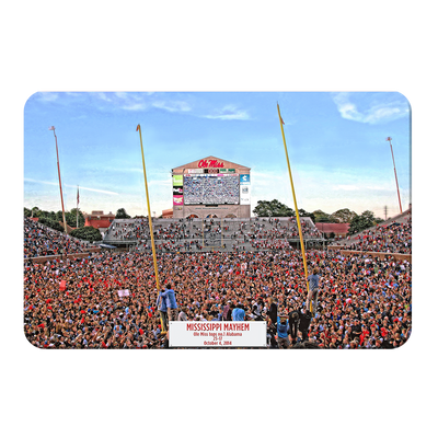 Ole Miss Rebels - Mississippi Mayhem - College Wall Art #PVC
