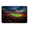 Ole Miss Rebels - Sunset Over Vaught-Hemingway - College Wall Art #PVC