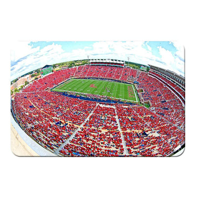 Ole Miss Rebels - Red Out - College Wall Art #PVC