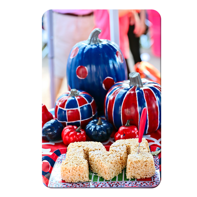 Ole Miss Rebels - Mississippi Pumpkin - College Wall Art #PVC