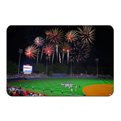 Ole Miss Rebels - More Fireworks Over Swayze - College Wall Art #PVC