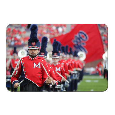 Ole Miss Rebels - Marching In - College Wall Art #PVC