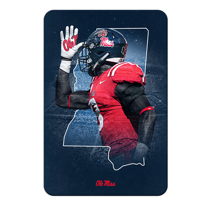 Ole Miss Rebels - Landshark State - College Wall Art #PVC