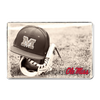 Ole Miss Rebels - Ole Miss Vintage Baseball - College Wall Art #PVC