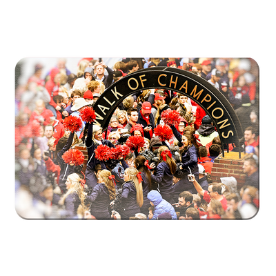 Ole Miss Rebels - Walk of Champions Cheer - College Wall Art #PVC