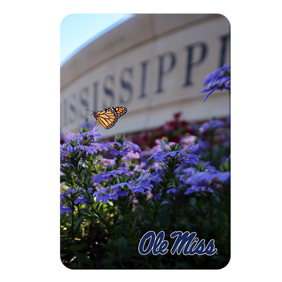 Ole Miss Rebels - Ole Miss Blue - College Wall Art #PVC