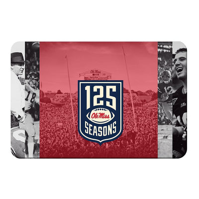 Ole Miss Rebels - 125 Ole Miss - College Wall Art #PVC