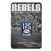 Ole Miss Rebels - REBELS 125 Years - College Wall Art #PVC