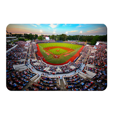 Ole Miss Rebels - Swayze Sunset - College Wall Art #PVC