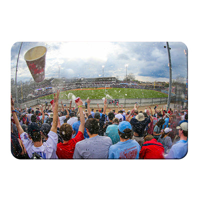 Ole Miss Rebels - Oxford Shower - College Wall Art #PVC