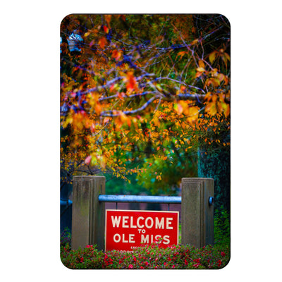 Ole Miss Rebels - Welcome to Ole Miss - College Wall Art #PVC