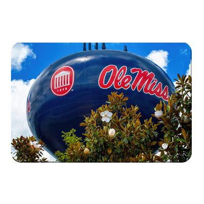 Ole Miss Rebels - Water Tower Magnolia - College Wall Art #PVC